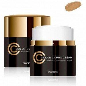 СС крем для лица Deoproce Color Combo Cream SPF49/PA++, 40g