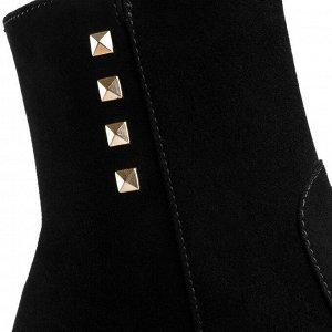 Ботинки замшевые женские. Модель 3213 н замша (зима)