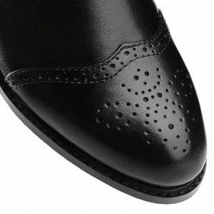 Ботинки Челси на низком каблуке. Модель 3216 б (демисезон)