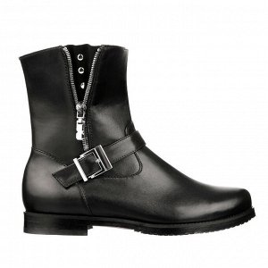 Стильные ботинки с прямым голенищем. Модель 3173 б (демисезон)