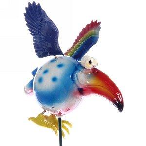 "Фигура на спице ""Птица счастья"" 14*40см"