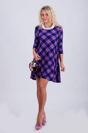 Платье П 566 (сирен. клетка)