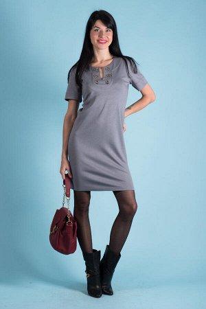 Платье П 58 (серый)