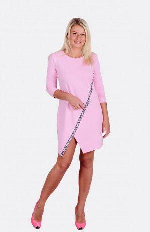 Платье П 606 (светло-розовый)
