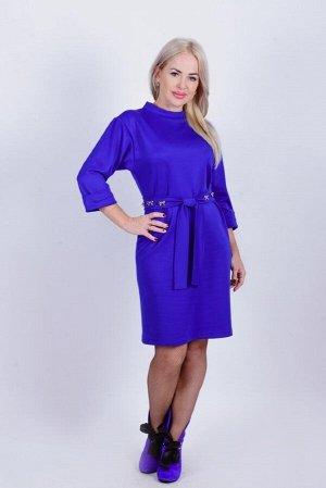 Платье П 655 (васильковый)