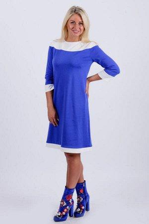 Платье П 493 (васильковый)