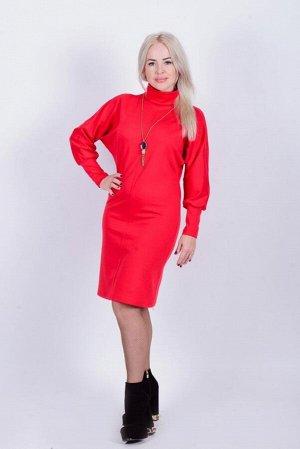 Платье П 469 (красный)