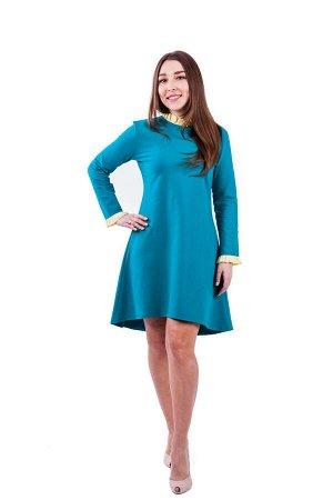 Платье П 545 (изумрудный)