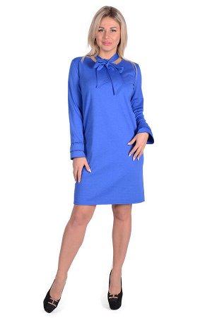 Платье П 696 (васильковый)