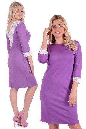 Платье П 751 (сиреневый)