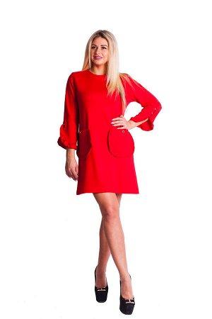 Платье П 657 (красный)