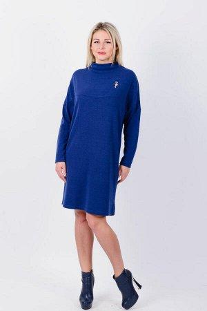 Платье П 632 (индиго)