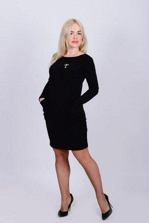 Платье П 662 (черный)