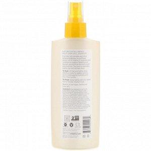 Andalou Naturals, Лак для волос, блестящее сияние, подсолнечник и цитрус, средней фиксации, 242 мл (8,2 жидкой унции)