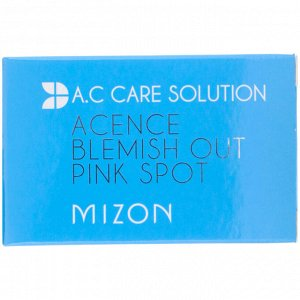 Mizon, A.C Care Solution, Acence Blemish Out Pink Spot, 1.01 fl oz (30 ml)