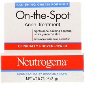 Neutrogena, On-the-Spot, средство для лечения акне, 21 г (0,75 унции)