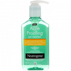 Neutrogena, Acne Proofing, очищающий гель от акне, 6 унц. (170 г)