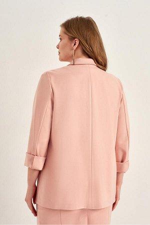 #64269 Жакет (ANTIGA) бежево-розовый