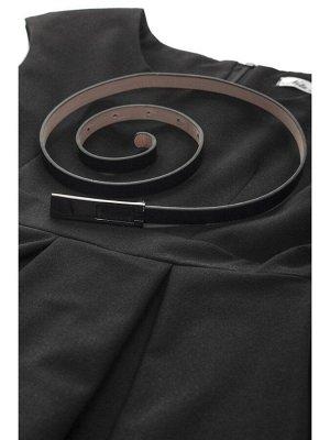 Сарафан приталенный с расклешенной юбкой в складку