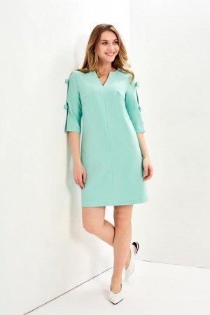 Платье Цвет: мятный   94%полиэстер6%эластан