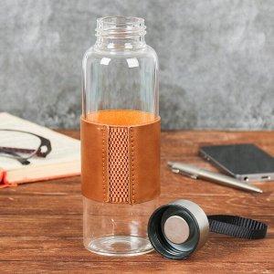 Бутылка для воды «Всегда на высоте», в чехле,400 мл