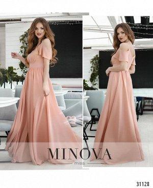 Платье №3118-пудра