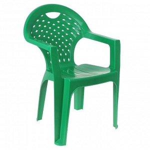 Кресло, 58,5 х 54 х 80 см, цвет зелёный