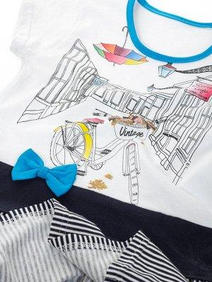 Платье Цвет: бирюзовый; Комплектация: Платье; Производство: РОССИЯ; Сезон: лето; Состав: 100% хлопок; Ткань: супрем; Уход за вещами: стирка при t не более 40С; Фактура материала: трикотажный Платье с