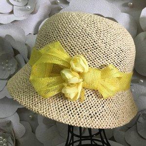 Шляпа соломка