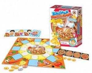 """Игра экономическая для малышей """"Веселая пиццерия"""" 25*19*6 см"""
