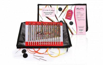 Knit Pro+Tulip - спицы, крючки, аксессуары для вязания  — Наборы — Спицы и крючки