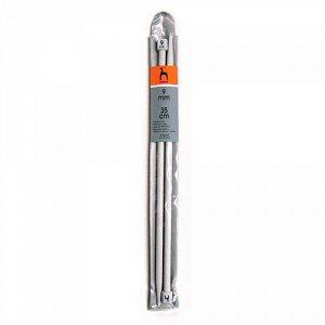 33268 PONY Спицы вязальные 35 см 9.00 мм, пластик