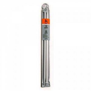 33269 PONY Спицы вязальные 35 см 10.00 мм, пластик