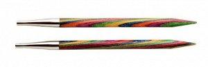 20402 Knit Pro Спицы съемные Symfonie 3,75мм для длины тросика 28-126см, дерево, многоцветный, 2шт