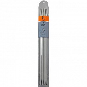 41264 PONY Спицы чулочные 35 см /8.00 мм, пластик