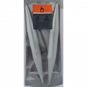 49872 PONY Спицы круговые 20,00 мм/120 см, пластик