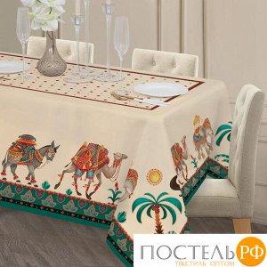 """Набор столовый """"Этель"""" Нью-Дели, скатерть 110х150 см, салф. 40х40 см-4шт, 100% хл   4136546"""