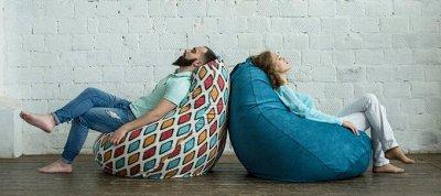 ❤Бескаркасная Мебель + наполнитель для нее ❤ — Кресла SOFT BAG — Мебель