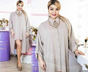 Платье-Рубашка 23655