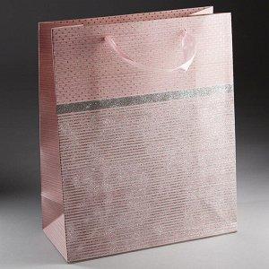Пакет подарочный 32х26х12см ПАК2-049 min=12штук