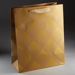 Пакет подарочный 32х26х12см ПАК2-056 min=12штук
