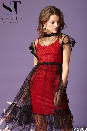 Платье двойка 45908