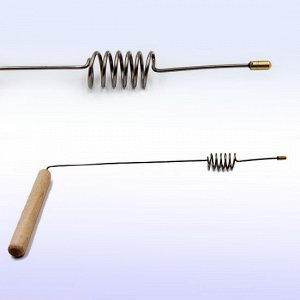 Рамка Для биолокации с резонатором цилиндр