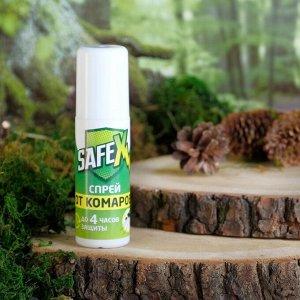 Спрей от клещей и комаров SAFEX, 100 мл.