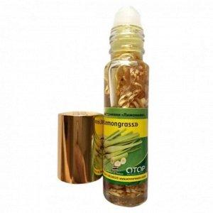 Бальзам жидкий Banna от головной боли, тошноты, на виски, Лемонграсс 10 гр