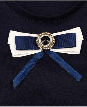 Школьный синий сарафан для девочки Цвет: синий
