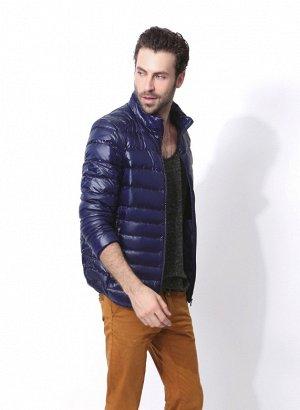 ультралегкая мужская куртка, цвет темно-синий