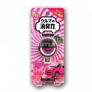 """""""ST"""" Освежитель воздуха для автомобильного кондиционера с ароматом цветов 1 шт.(3.2 мл)"""