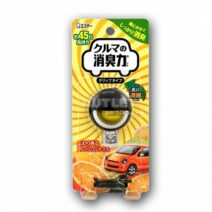 """""""ST"""" Освежитель воздуха для автомобильного кондиционера с ароматом цитрусовых 1 шт.(3.2 мл)"""