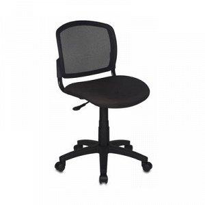 Кресло Бюрократ, черный, спинка сетка CH-1296NX/15-21